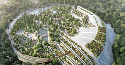 Architects Imagine a Lush 'Garden City' That Would Provide Locally Sourced Food for Paris