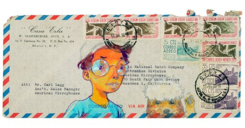 90+ Artists Transform Vintage Envelopes Into Messages of Hope in a Time of Separation