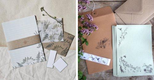 10 Illustrative Stationery Sets To Make Writing Snail Mail Beautiful and Fun