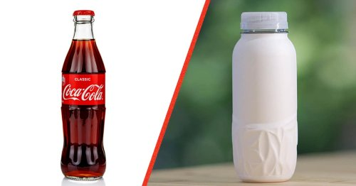 Coca-Cola Unveils Its New Sustainable Paper Bottles Ready for Testing
