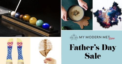 Father's Day Sale at My Modern Met Store: Save 15% on All Creative Gifts for Dad