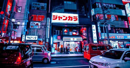 Photographer Reveals a Cyberpunk View of Tokyo by Wandering the Neon-Lit Streets at Night