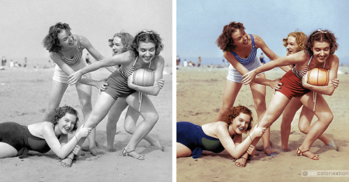 Artist Breathes New Life Into Old Black and White Photos by Colorizing Them