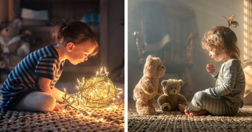 This Loving Father Captures the Magic of Everyday Moments With His 4 Kids