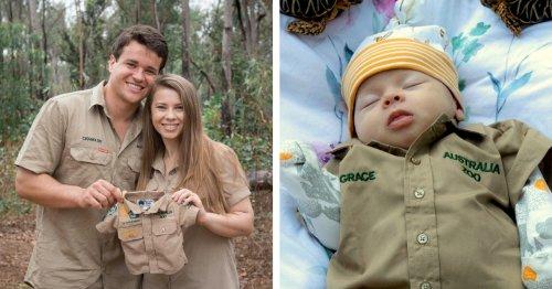 Bindi Irwin Gives Her Daughter Her First Australia Zoo Khakis