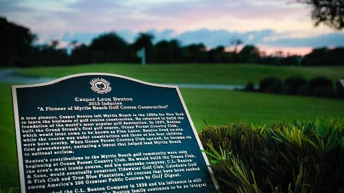 Builders, movers and shakers: Three selected for the Myrtle Beach Golf Hall of Fame