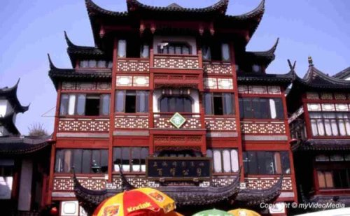 In the Old City of Shanghai