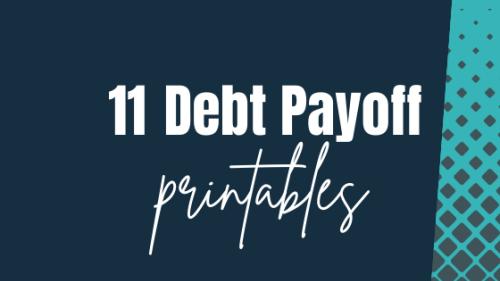 11 Best Debt Payoff Planner Printables ( + Free Credit Card Debt Snowball Worksheet)