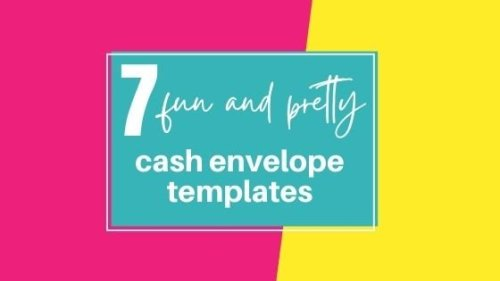 7 Best Cash Envelope Templates For Summer Budgeting