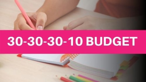 The 30-30-30-10 Budget (The Most Fun Way To Budget)