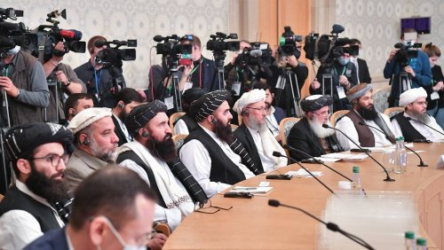 Taliban bitten um Geld für Wiederaufbau