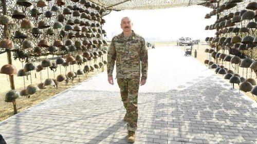 Alijew eröffnet makabres Kriegsmuseum