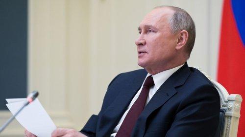 Putin bereit für Treffen mit Selenskyj