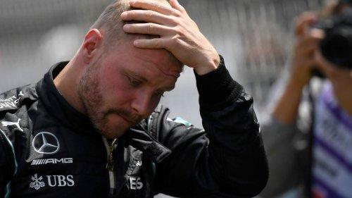 Bottas droht bei Mercedes das Blitz-Aus