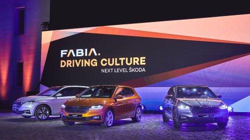 Skoda präsentiert neuen Fabia