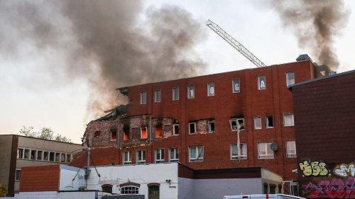 Schwere Explosion erschüttert Hamburg