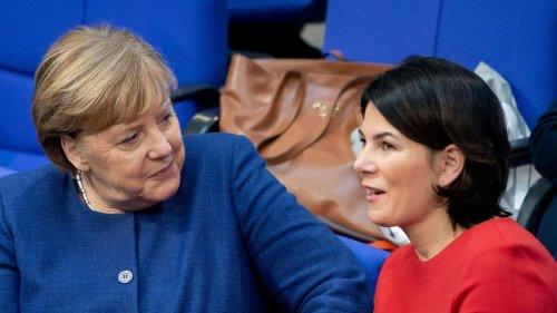 Deutsche vertrauen Merkel, Söder, Baerbock