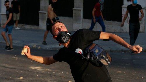 Randale am Jahrestag der Beirut-Explosion