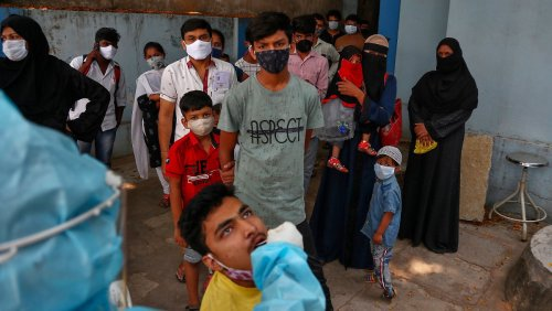 274.000 neue Infektionen - an einem Tag