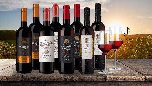Rotwein-Deal: 8 goldprämierte Flaschen zum Spar-Preis