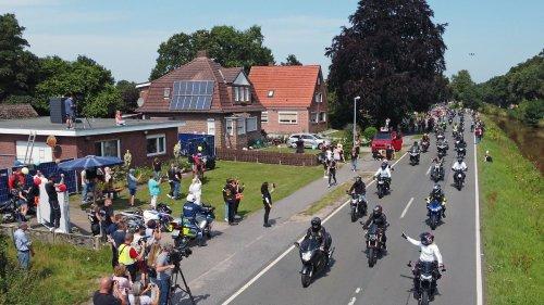 15.000 Biker besuchen krebskranken Kilian