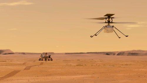 Mini-Hubschrauber bereit für Mars-Flug