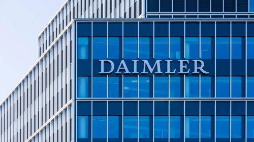Verrieten Behörden Interna von Daimler?