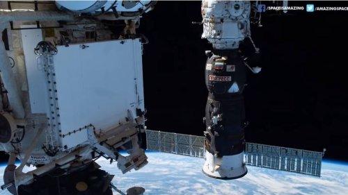 Rauchalarm schreckt ISS-Besatzung auf