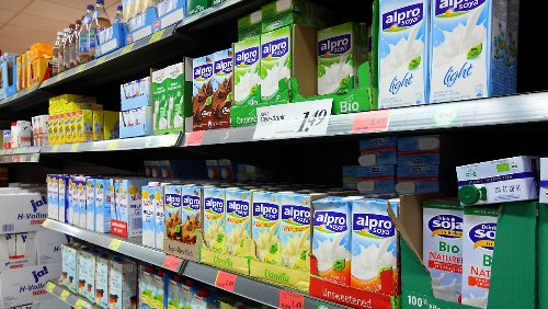 Vegane Alternativen machen Milch Konkurrenz