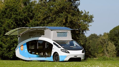 Solar-Camper macht unabhängig
