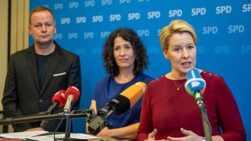 Berliner SPD und Grüne für Koalitionsverhandlungen