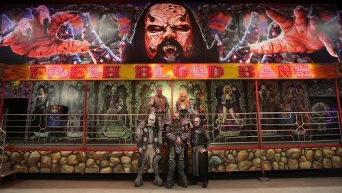 Lordi bekommen ihre eigene Geisterbahn