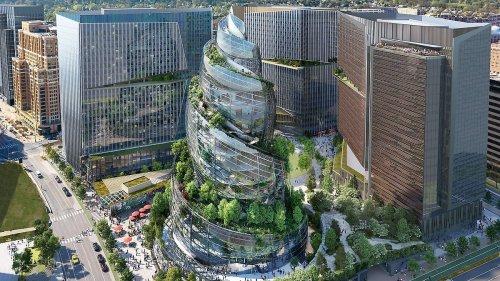 Amazon zeigt futuristisches Hauptquartier