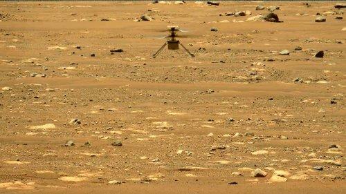Mars-Helikopter scheitert bei Flugversuch