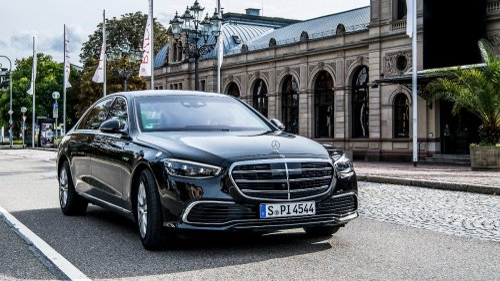612 PS - Olaf Scholz' neuer Mercedes S 680 Guard