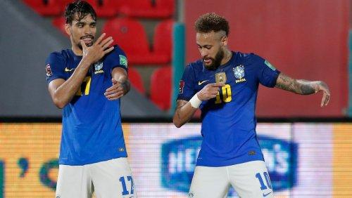 Neymar ist gegen die Copa - und will spielen