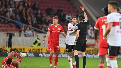 VfB kämpft sich nach 35-Sekunden-Rot zurück