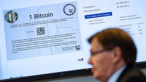 Justiz versteigert erstmals beschlagnahmte Bitcoin