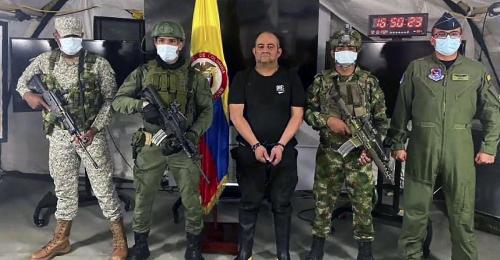 Kolumbiens meistgesuchter Drogenbaron geschnappt