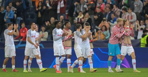 Campions League: Salzburg öffnete Achtelfinaltür mit 3:1 gegen Wolfsburg