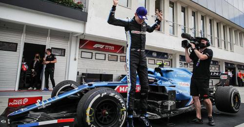 Premierensieg von Ocon in Ungarn vor Vettel und Hamilton