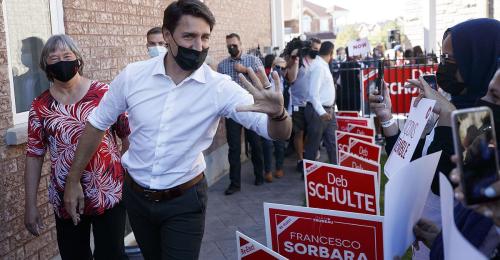 Knappes Rennen um den Wahlsieg in Kanada
