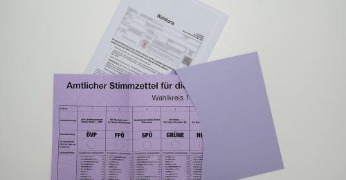 Briefwahl-Rekord in Oberösterreich