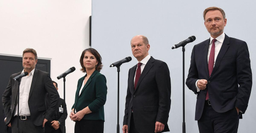 """Vom Mindestlohn bis zum Klimaschutz: Deutschlands """"Ampel"""" wird konkret"""