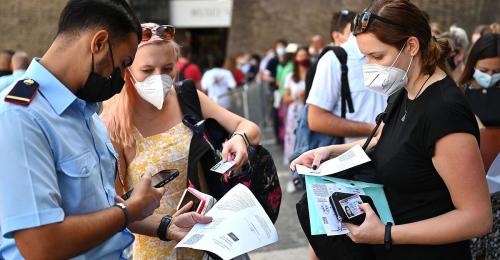 """Italien führt """"3-G"""" für alle Arbeitnehmer ein"""
