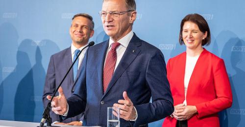 Schwarz-Blau ist fixiert: ÖVP schickt zweite Frau in die Landesregierung