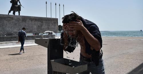 30 Grad in der Nacht: Historische Temperaturen in Griechenland