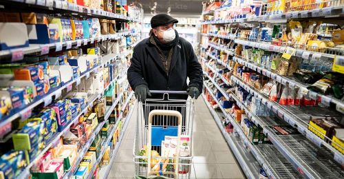Supermärkte können Ungeimpfte aussperren