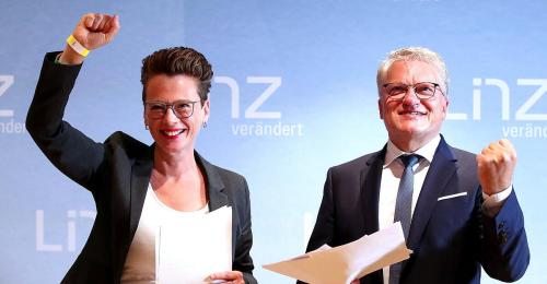 Zartes Plus für SPÖ in Linz, FPÖ stürzt auf Platz vier ab