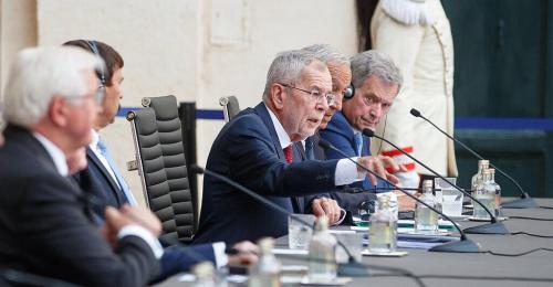 "Van der Bellen in Rom: ""EU soll selbstbewusster auftreten"""